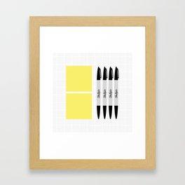 UX Design Toolkit Framed Art Print