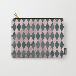 Marble Harlequin Carry-All Pouch