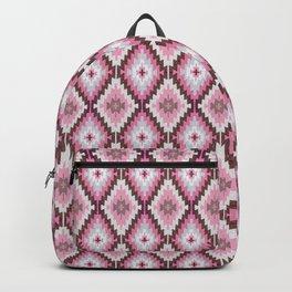 Pink Kilim // Moroccan Rug // Persian Geometric // Boho Backpack
