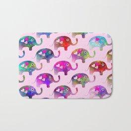 Elephant Party Bath Mat