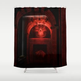 Witching hour in the House of Dead Shower Curtain