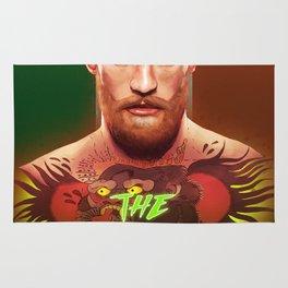 The Notorious Conor McGregor by Big Foot Studios Rug