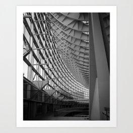 Tokyo International Forum Art Print