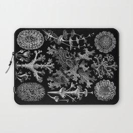 Lichens(Lichenes) by Ernst Haeckel Laptop Sleeve