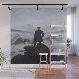 CasperDavid Friedrich's Wanderer Above the Sea of Fog Wall Mural