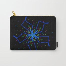 Windmill Kaleidescope Graphic Carry-All Pouch
