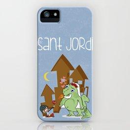 Sant_Jordi iPhone Case
