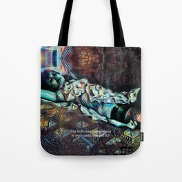 Lies From The Past Tote Bag