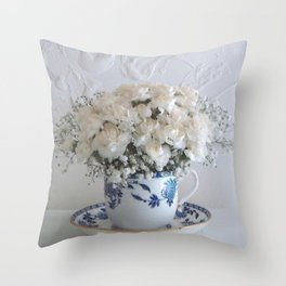 Pretty flowers # 3. Throw Pillow