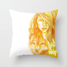 Bad Wolf Throw Pillow