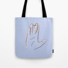 mr. spock Tote Bag