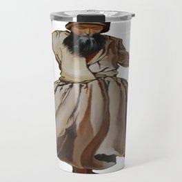 Whirling Dervish Conveys God's Spiritual Gift Travel Mug