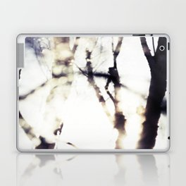 Blurry Trees Laptop & iPad Skin