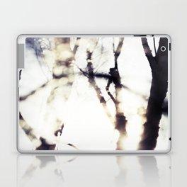 Blurry Trees Laptop & iPad Skin