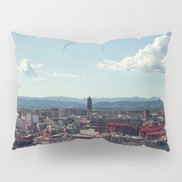 Red city Pillow Sham