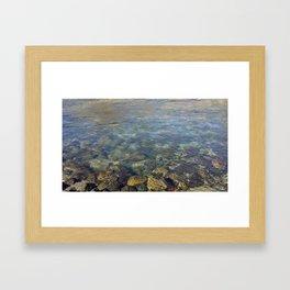 Clean Water Framed Art Print