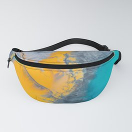 Abstract of minerals Fanny Pack