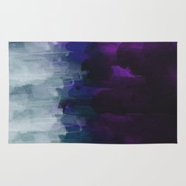 Abstract watercolor texture I Rug
