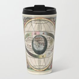 Harmonia Macrocosmica Map - Plate 02 Travel Mug