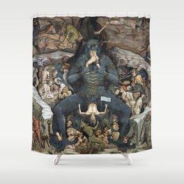 The Beast Shower Curtain