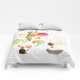 temari sushi Comforters