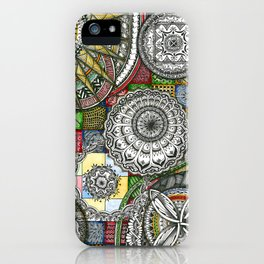 The Patterns iPhone Case