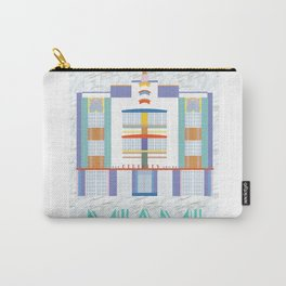 Miami Landmarks - The Berkeley Shore Carry-All Pouch