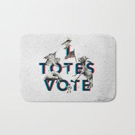 I Totes Vote Bath Mat