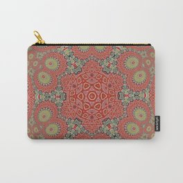 Incremental Looping Kaleidoscope Carry-All Pouch