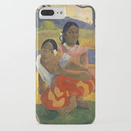 Paul Gauguin -  Nafea Faa Ipoipo (When Will You Marry?) iPhone Case