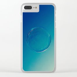 Go Ahead Now Photography Clear iPhone Case