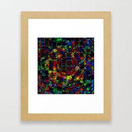 Urban Psychedelic Abstract Framed Art Print