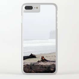 La Push Beach Clear iPhone Case
