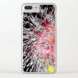 Fireworks Burst Clear iPhone Case