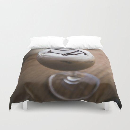 Coffee Love Duvet Cover