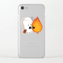 Friendly Fire Clear iPhone Case