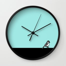 Little Chickadee Wall Clock