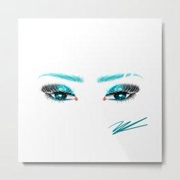 Turquoise Waters Metal Print