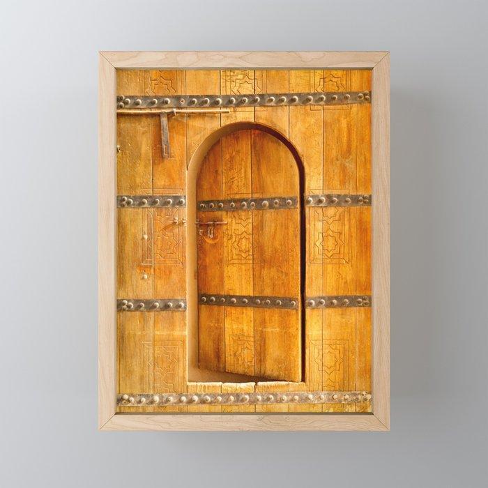 Al Jahili Fort 1 Framed Mini Art Print