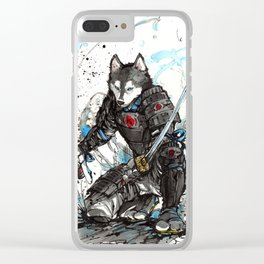 Year of the Dog...Samurai! Clear iPhone Case