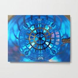 Industrial UV water purification Metal Print