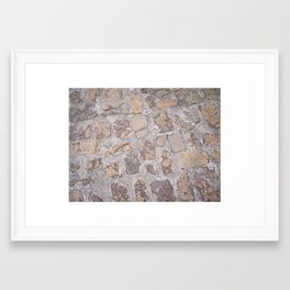 Ground Framed Art Print