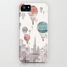 Voyages Over San Francisco iPhone SE Slim Case