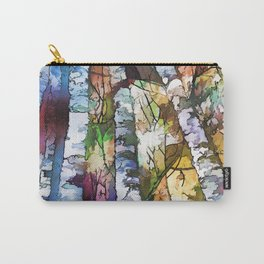 Aspen Trees Carry-All Pouch