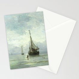 Vintage Ship Painting Stationery Cards