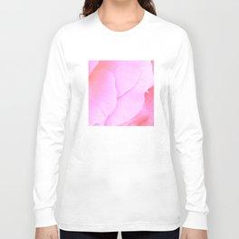 Flower   Flowers   Floral   Pink Rose Petals   Nadia Bonello Long Sleeve T-shirt