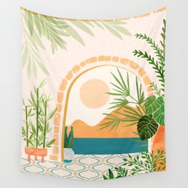 Baja California Villa / Villa Series Wall Tapestry