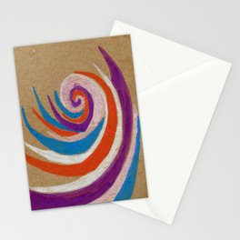 snoozy spiral Stationery Cards