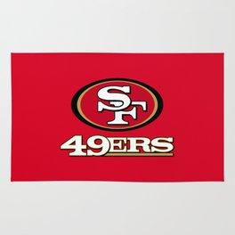 SF 49ERS Rug