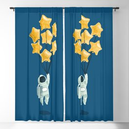 Astronaut's dream Blackout Curtain